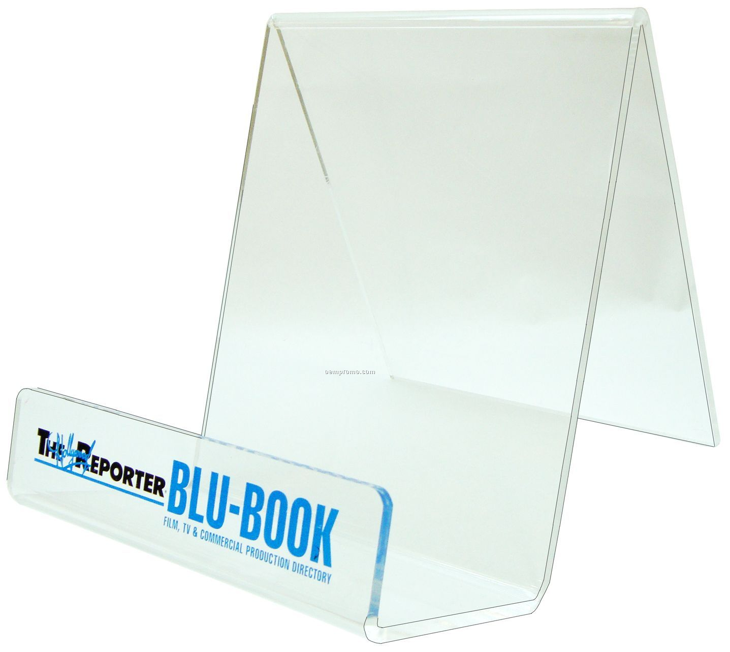 """""""J"""" Stand For Brochure And Product Display With Lip"""