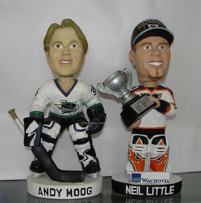 Hockey Sport Bobble Head Doll