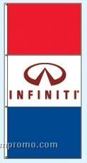 Stock Double Face Dealer Rotator Drape Flags - Infiniti