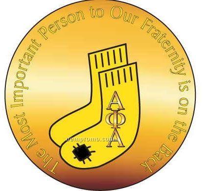 Alpha Phi Alpha Fraternity Socks Hand Mirror (2 1/2