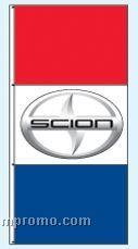 Stock Double Face Dealer Rotator Drape Flags - Scion
