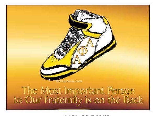 Alpha Phi Alpha Fraternity Shoe Rectangle Hand Mirror (2 1/2
