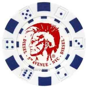 Custom Hot Stamped Poker Chips