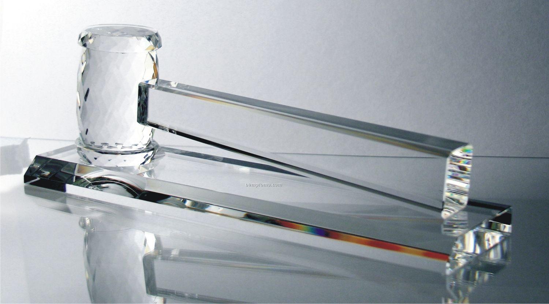 Optic Gavel Award W/ Presentation Box