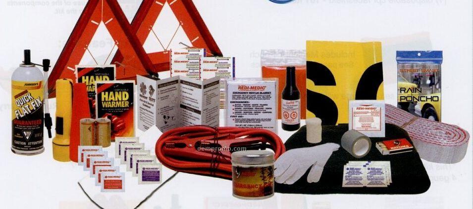 Designer Auto Safety Kit (55 Items)