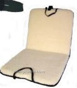 Fleece Stadium Seat Cushion W/ Pocket