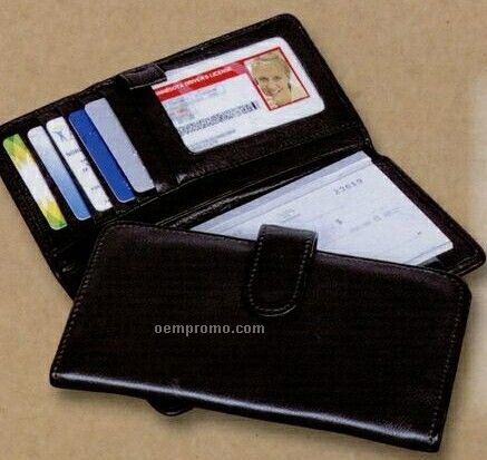 Keystone Canyon Checkbook Wallet