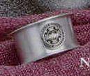 Satin Finish Pewter Napkin Ring