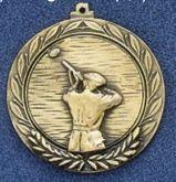 "2.5"" Stock Cast Medallion (Shooting Trap)"