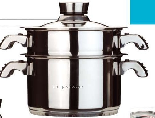 3 Piece Orion Steamer Pot