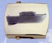 Brass Money Clip (Classic Boat)