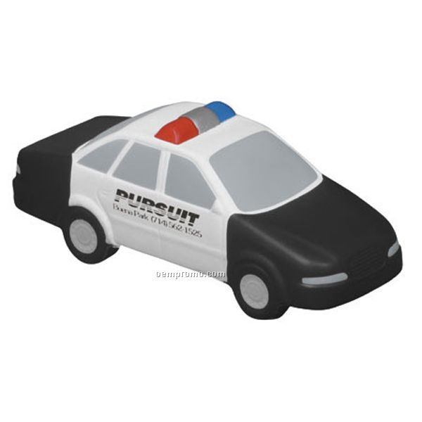 Police Car Squeeze Toy