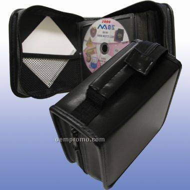 Pvc & Polyester 48 Pack CD Holder