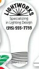 Stock Light Bulb Magnetic Note Holder (.034 Thick)