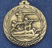 "2.5"" Stock Cast Medallion (Shooting Team)"