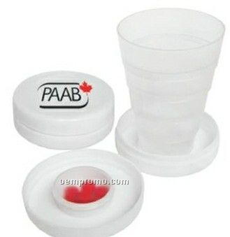 Econo Collapsible Cup W/ Pill Holder