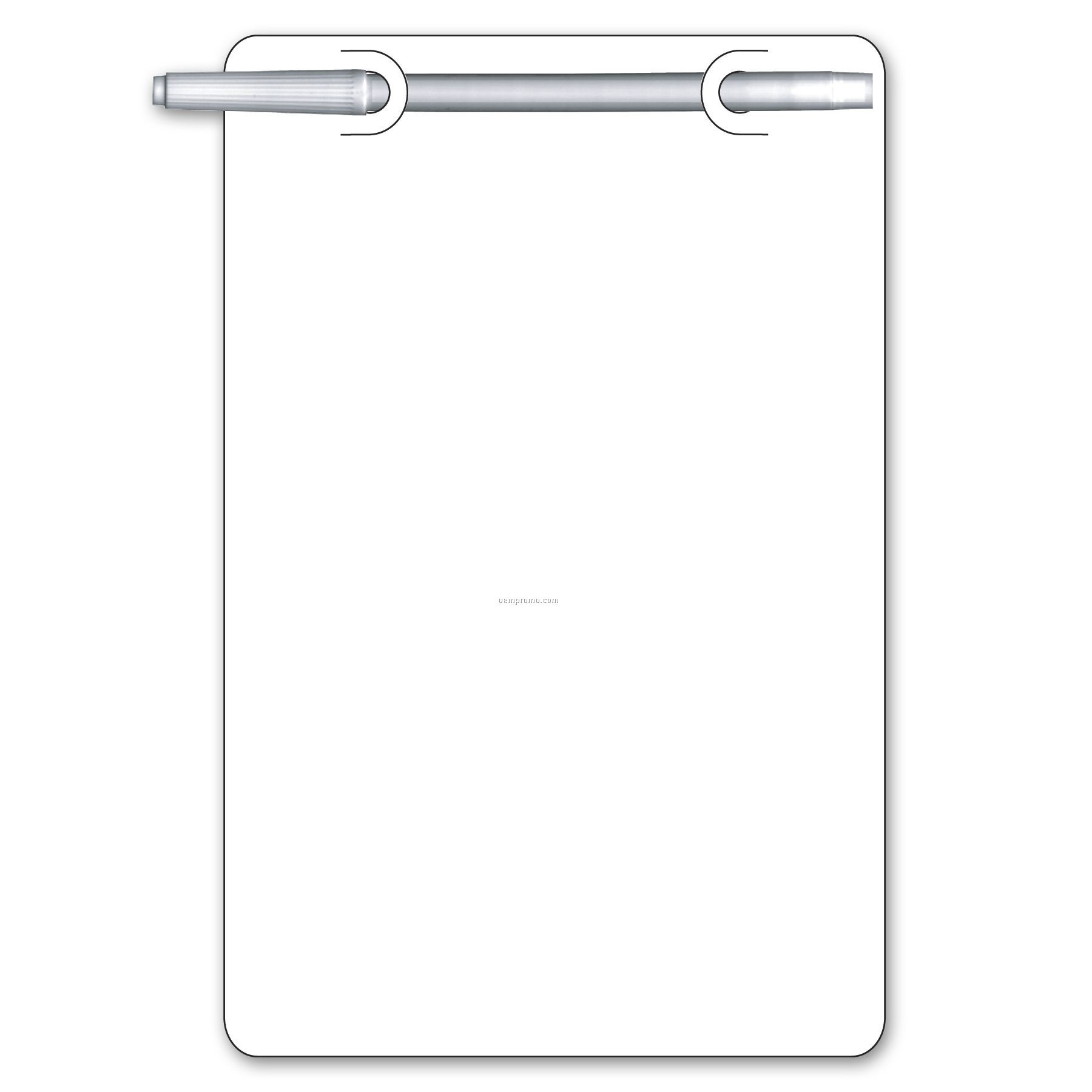 Write On/ Wipe Off Rectangle Shape Memo Board
