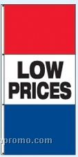 3-1/2'x7-1/2' Double Face Stock Message Rotator Drape Flags - Low Prices