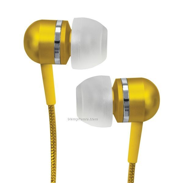 High Performance Isolation Stereo Earphone - Ipod Ready