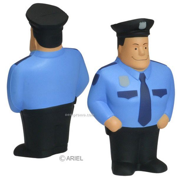 Policeman Squeeze Toy