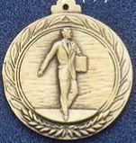 "2.5"" Stock Cast Medallion (Salesman)"