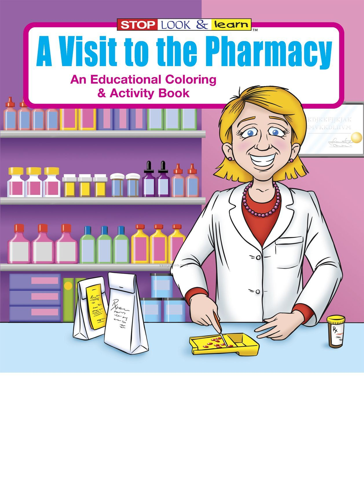 coloring pages pharmacist - photo#32