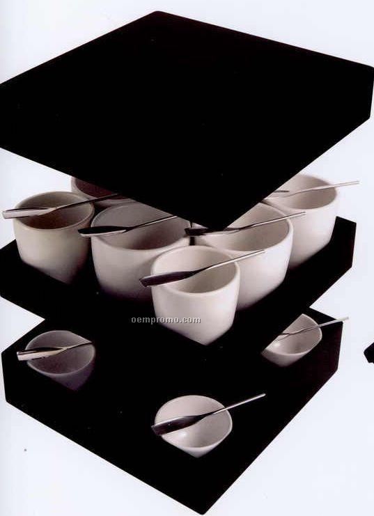Break Time Coffee Or Tea Cups Gift Set (23cmx23cmx15cm)