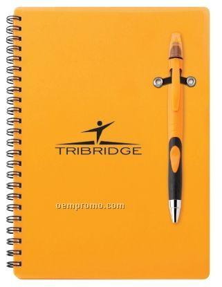 Fame Pen/ Highlighter & Notebook Combo