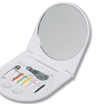 Mirror W/ Sewing Kit