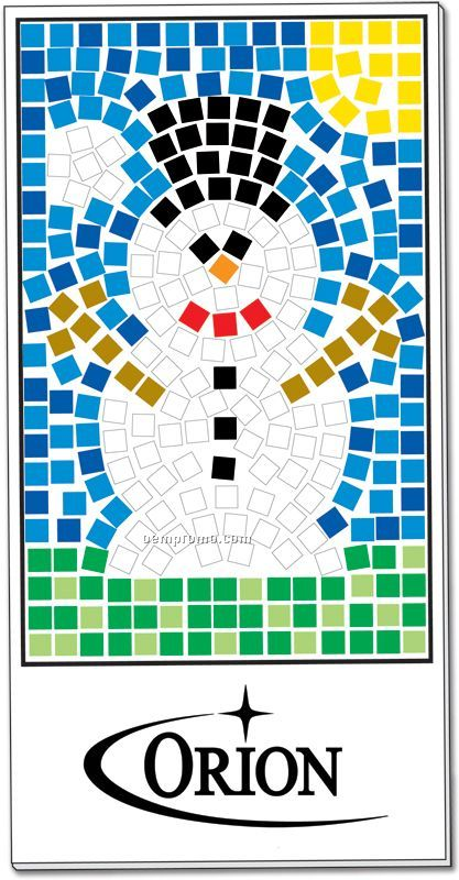 Mosaic craft kit snowman china wholesale mosaic craft for Craft kits for kids in bulk