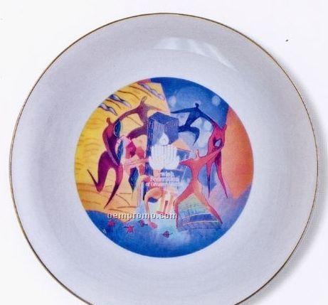 Tudor Porcelain Plate
