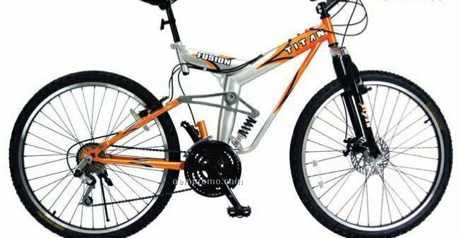 "26"" Dual Suspension Unisex Atb 21 Speed W/ Front Disc Brake Bicycle"