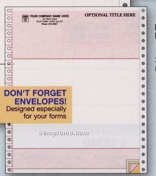 Classic Multipurpose Form - Peachtree Compatible (2 Part)