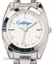 Pedre Women's Silver Waverly Watch W/ Stainless Steel Bracelet