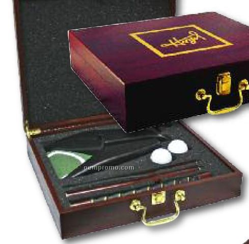 Rosewood Executive Golf Gift Box