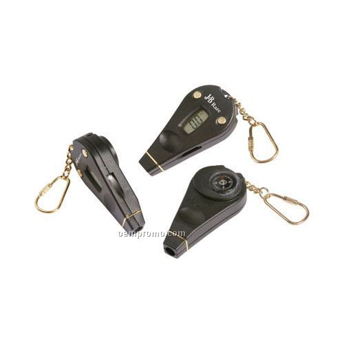Digital Tire Gauge Keychain With Compass & LED Flashlight