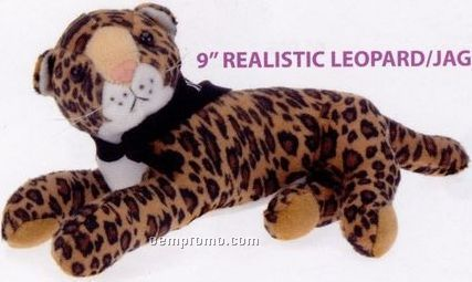 Realistic Leopard/ Jaguar Stuffed Animal