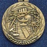 "2.5"" Stock Cast Medallion (Science)"