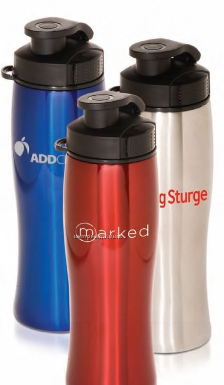 25 Oz. Contour Stainless Bottle