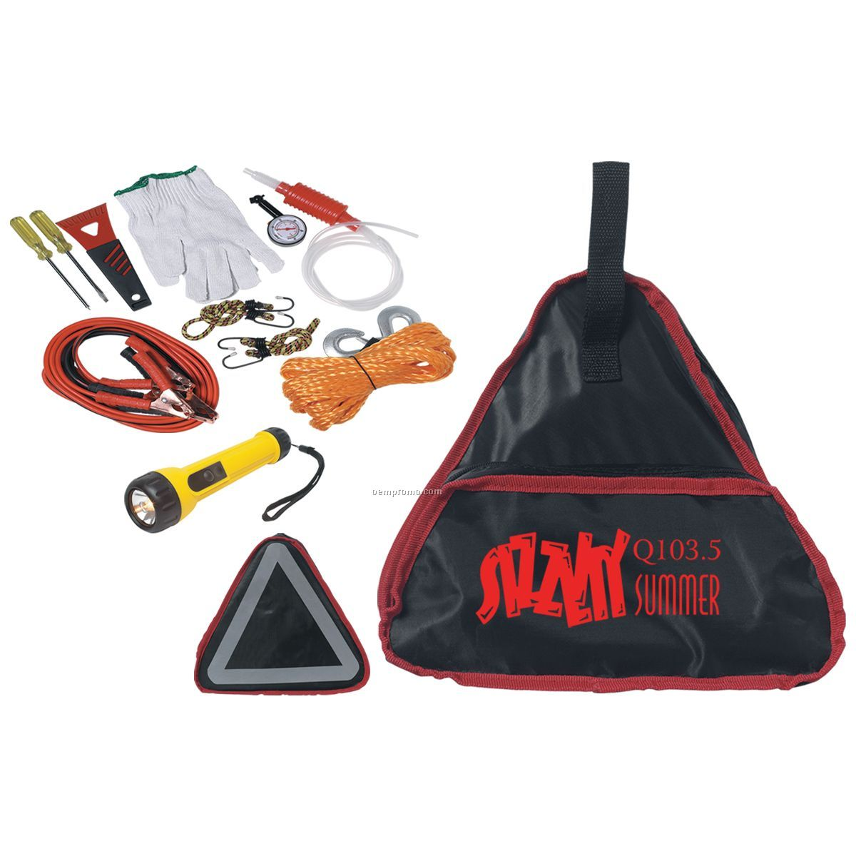 Auto Safety Kit (Screen Printed)