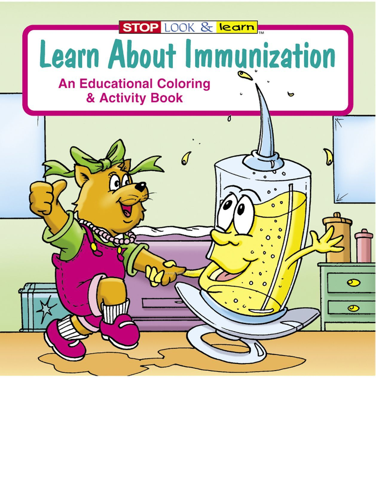 Learn About Immunization Coloring Book