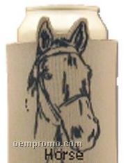 Crazy Frio Beverage Holder - Horse