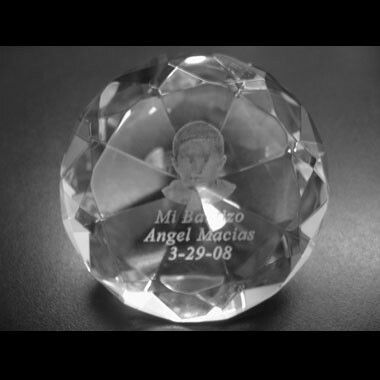 Diamond Crystal Paperweight (2d Engrave)