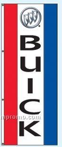 Double Face Dealer Rotator Drape Flags - Buick