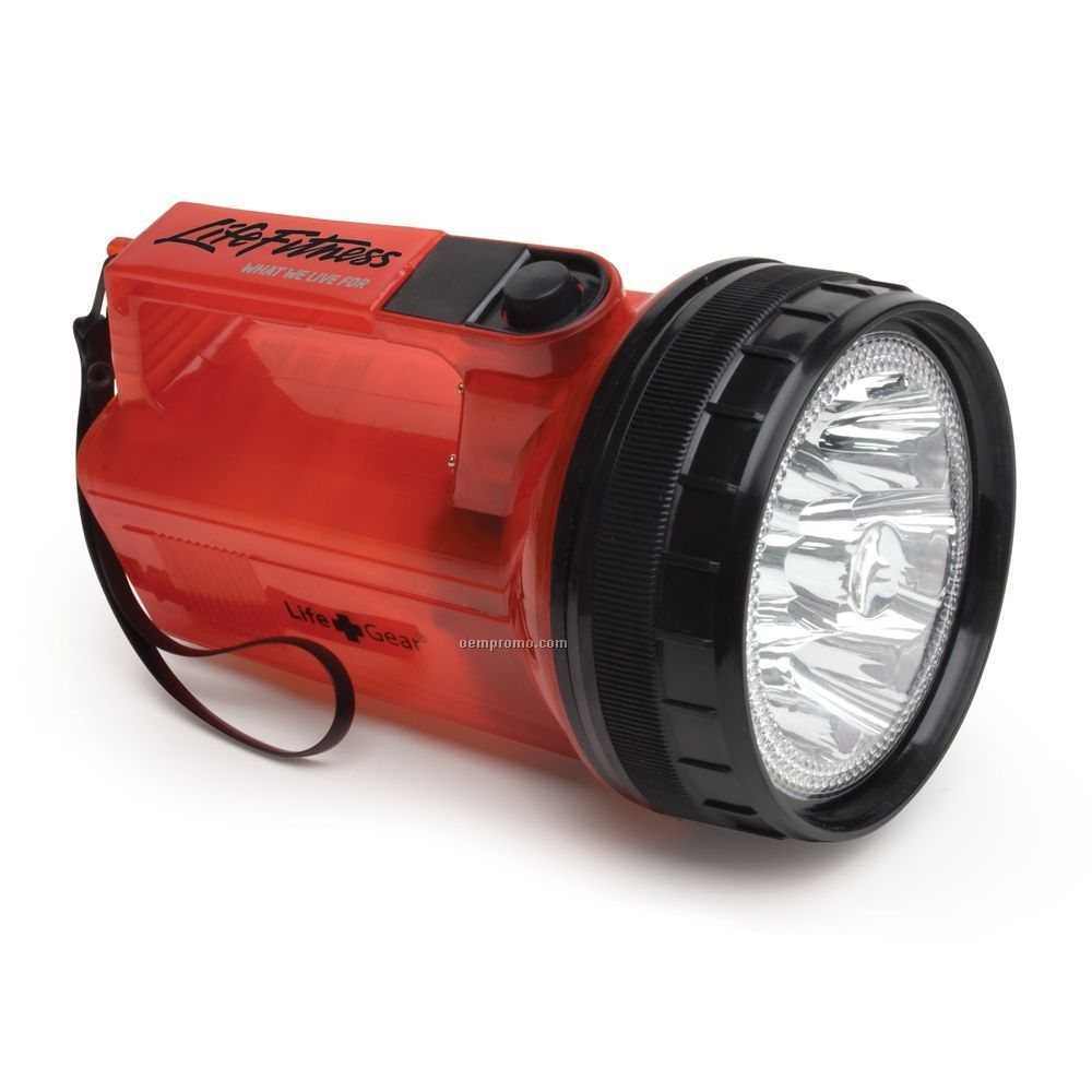Life Gear Glow Spot Light / Flashlight - Red