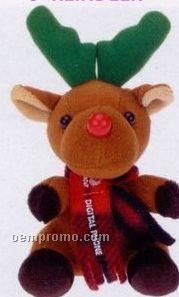 Stock Christmas Stuffed Reindeer