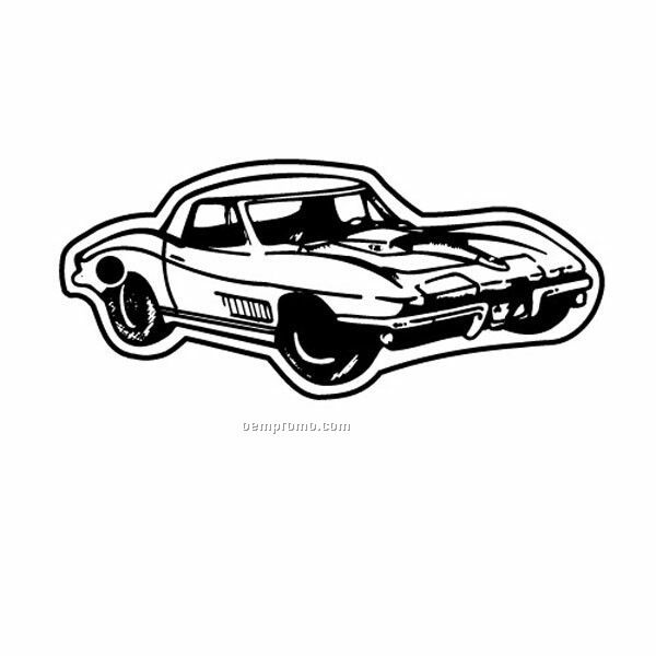Stock Shape Collection Classic Corvette 1 Key Tag