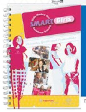 50 Sheet Gloss Cover Journal W/Pen Safe Back
