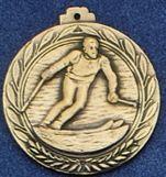 "2.5"" Stock Cast Medallion (Ski/ Male)"