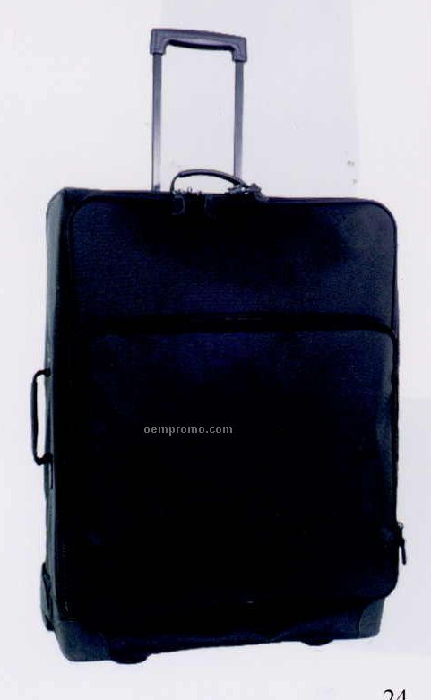 "25"" Nylon Wheeled Upright Luggage"